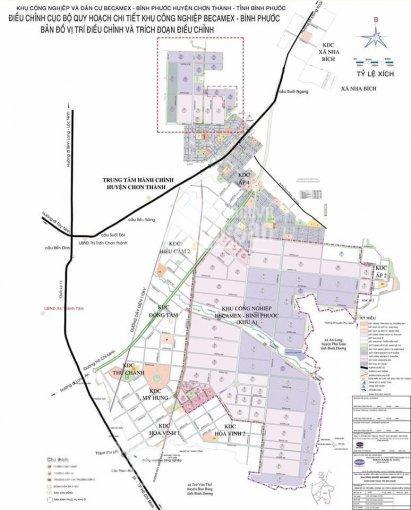 Đất nền hot nhất khu vực Chơn Thành Bình Phước CĐT Becamex (0932189972)