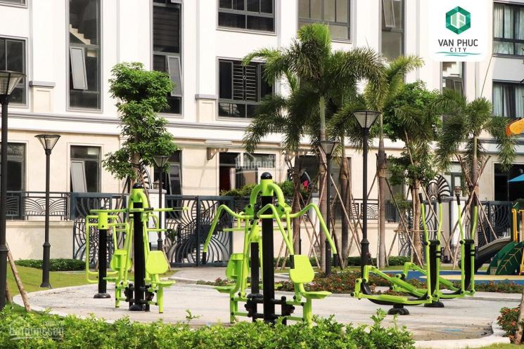 Cho thuê tòa nhà KĐT Vạn Phúc, DT 7x20m, hầm + 6 lầu, view công viên, thang máy, chỉ 50 triệu/tháng ảnh 0