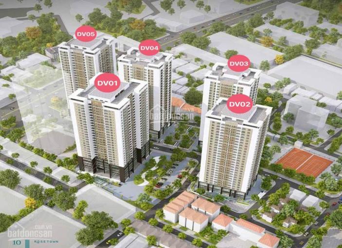 CC Rose Town, 79 Ngọc Hồi, ký HĐMB trưc tiếp CĐT, giá từ 27-28tr/m2 trả góp LS 0% nhận nhà ở ngay ảnh 0