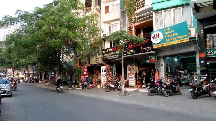 Bán tòa tổ hợp văn phòng căn hộ mặt phố Thái Thịnh, 150m2, 10 tầng, mặt tiền 8m, 62 tỷ