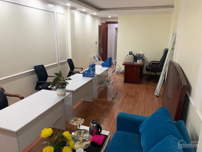 Cho thuê mặt bằng văn phòng tầng 2 trong nhà 6 tầng, 45m2 phố Dương Khuê, Mỹ Đình, 7tr/ 1th