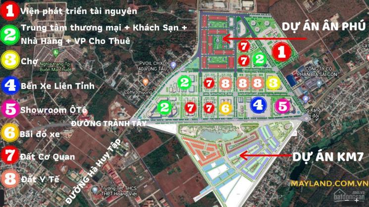 Bán đất dự án Eco City Premia - khu đô thị Ân Phú - phường Tân An, TP Buôn Ma Thuột