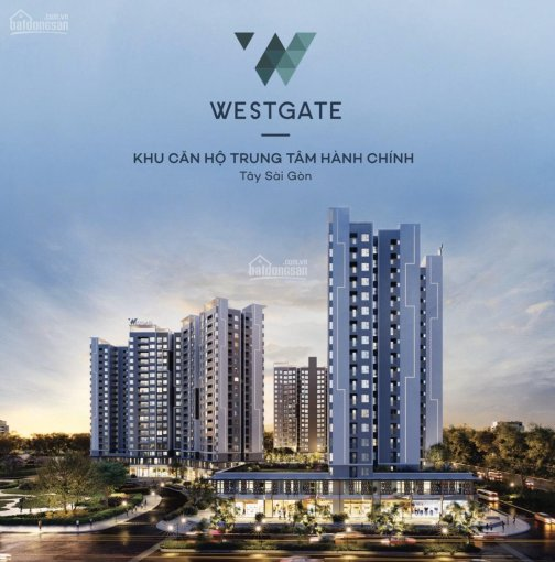 Căn hộ West Gate trung tâm hành chính Bình Chánh, mua nhà TT 30% - nhận nhà TT phần còn lại