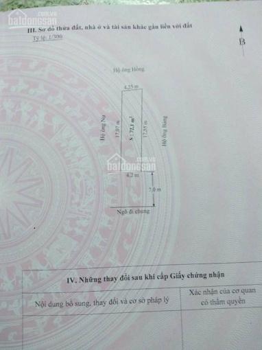 Bán 72m2 tổ 8 thị trấn An Dương, ngõ trước mặt 7m, giá chỉ có 650tr. Liên hệ ĐT/Zalo 0931.573.789
