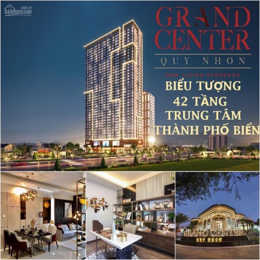 Giảm sốc giá từ 1.9 tỷ còn 1.1 tỷ khi mua CH 5* Quy Nhơn Grand Center sở hữu vĩnh viễn 0968687800
