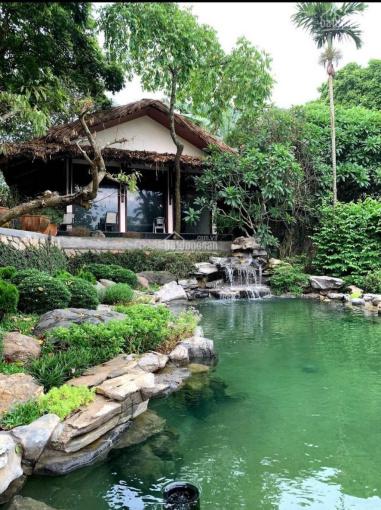 Cần sang nhượng biệt thự có khuôn viên hoàn thiện siêu vip tại Hòa Sơn, Lương Sơn, Hòa Bình