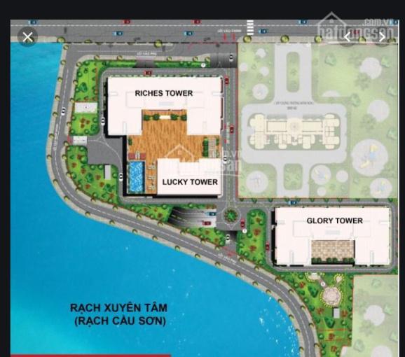 Cho thuê shophouse kinh doanh Richmond mặt tiền đường Nguyễn Xí, giá 35 triệu/tháng - 0938156415