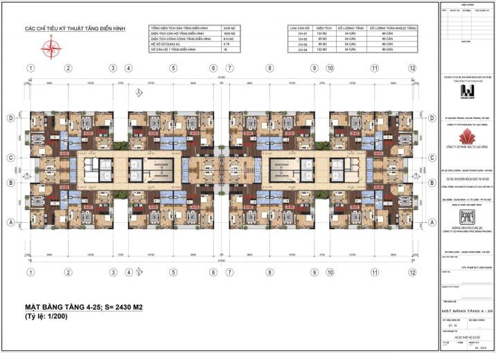 Bán chung cư Lạc Hồng 2 Ngoại Giao Đoàn, 95m2 - 133m2, giá tốt nhất thị trường. LH 0917.559.138 ảnh 0