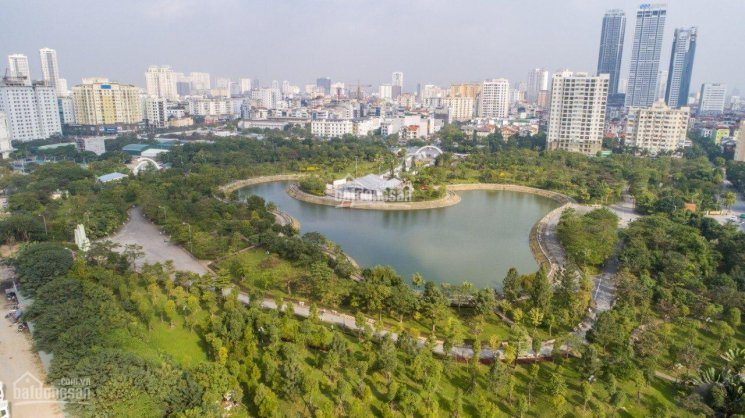 Trực tiếp chủ đầu tư bán gấp lô VP view công viên Cầu Giấy, nhận mặt bằng ngay. DT 125,85m2
