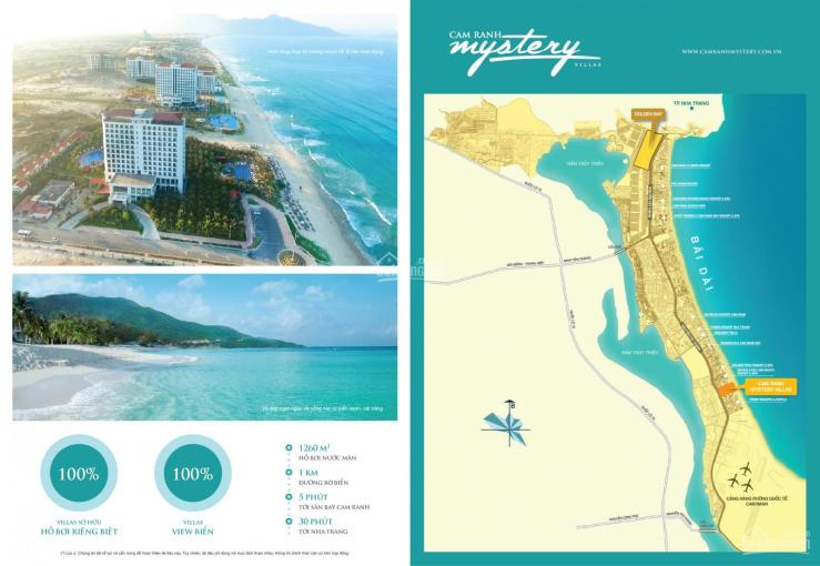 Cơ hội đầu tư biệt thự Mystery Cam Ranh ngay biển Bãi Dài - Khánh Hòa Nha Trang: LH 0902537816