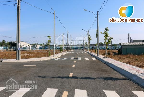 Kẹt tiền bán gấp đất Bến Lức Riverside đối diện KCN Thuận Đạo, giá chỉ 800 triệu, đã có sổ hồng ảnh 0