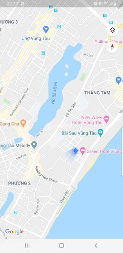 Bán đất mặt tiền Phan Văn Trị, 300m đến bãi tắm Thùy Vân, 223m2, giá 50 tỷ thương lượng