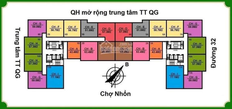 Dự án NHS Phương Canh Residence, Nam Từ Liêm, Hà Nội