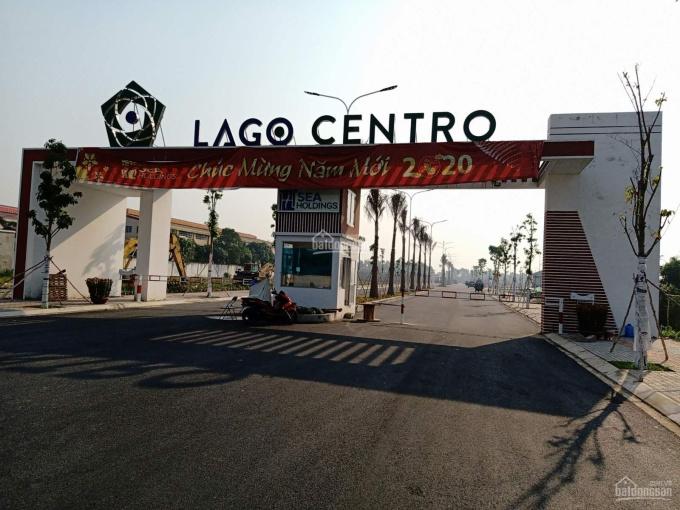 Bán đất nền nhà phố thương mại 100% đất thổ cư, sổ đỏ dự án Lago Centro nền F-12