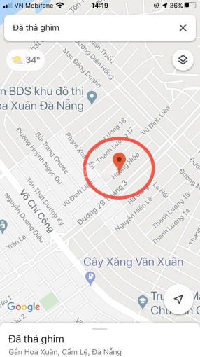 Bán đất đường Hoàng Hiệp - Tây Bắc khu đô thị Nguyễn Tri Phương giá cực tốt LH: 0935666742