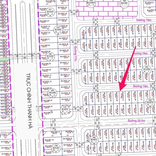 Đất biệt thự Thanh Hà B2.2 giá chỉ 5.1 tỷ không lỗi lầm đã công chứng. LH ngay: 0868318233