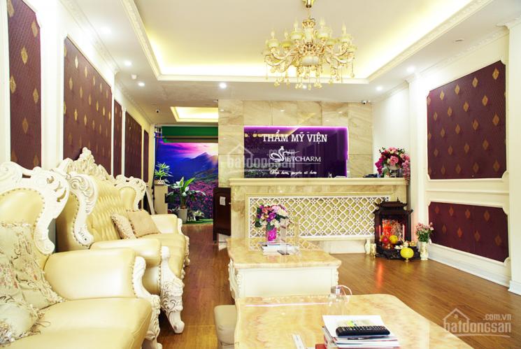 Cho thuê nhà mặt phố 20 Nguyễn Hoàng, Nam từ Liêm DT 80m2 x 5 tầng, 2 mặt thoáng, mới xây