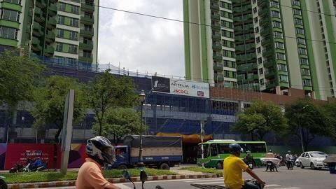 Cần bán MT Hồng Bàng, Phường 11, Quận 5, TP HCM, (4.3x25m) NH 4.5m. DTXD: 100,2 m2 ảnh 0