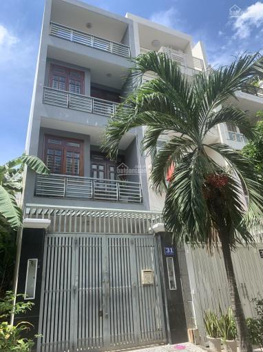 Cho thuê nhà sau Nguyễn Hoàng, P. An Phú, 240m2 trệt 3 lầu, 4 phòng để ở, văn phòng công ty ảnh 0