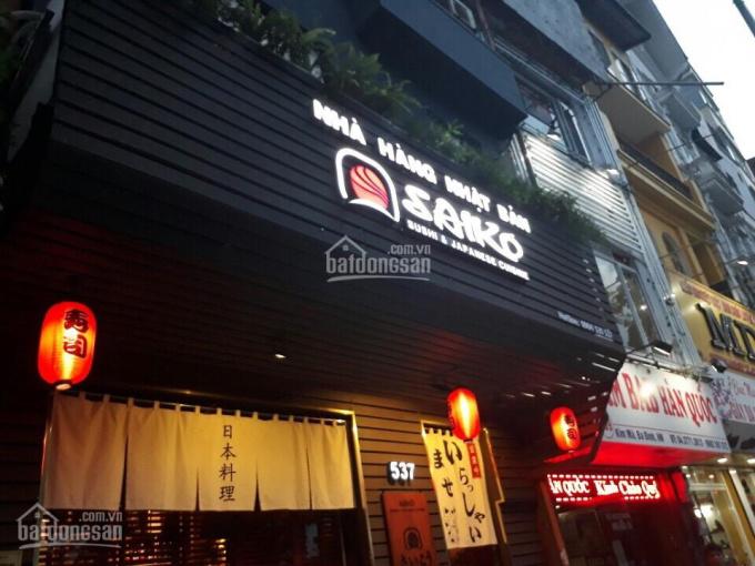 Bán nhà phố Phạm Huy Thông DT 58m2, MT 5.2m, 6 tầng ảnh 0