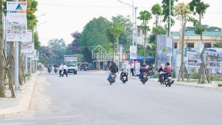 Bán 2 lô đất khu đô thị mặt tiền Nguyễn Công Phương - Quảng Ngãi, giá cực rẻ, sổ đỏ trao tay ảnh 0