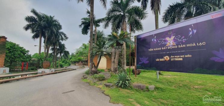 Bán đất nền phân lô Hòa Lạc cạnh hồ Hòa Lạc Lotus, gần Asean Resort, giá từ gốc, 0989590036
