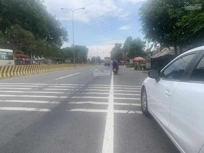 Bán đất ngay góc ngã tư mặt tiền Quốc lộ 13 (125 x 414 = 55.000m2) Xã Lai Hưng, Bàu Bàng, BD
