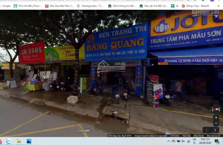 Bán nhà C4 mặt tiền Dương Thị Mười, Tân Thới Hiệp Q12 5x20m, HĐT 25tr/th, 11,5 tỷ. Đang làm sổ mới