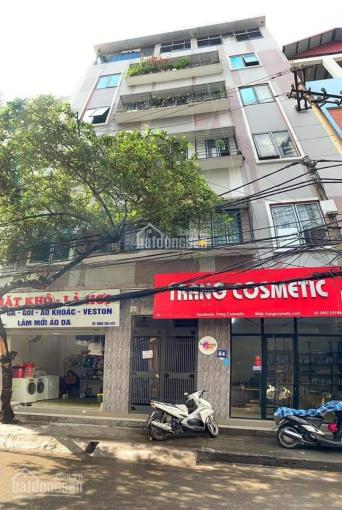 Bán nhà mặt phố Phú Thượng, quận Tây Hồ, 60m2, 6 tầng, MT 6,2m, thang máy, giá 10.5 tỷ