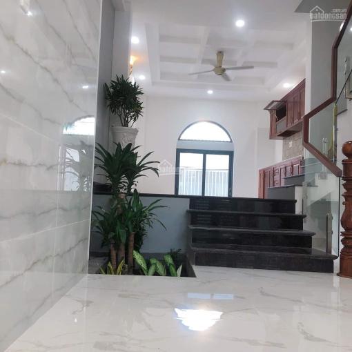 Bán nhà 1 trệt 3 lầu mới đẹp tại hẻm 803 Huỳnh Tấn Phát, Phường Phú Thuận, Quận 7 ảnh 0