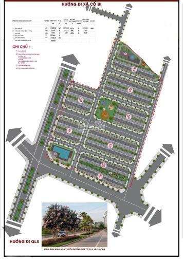 2,5 tỷ sở hữu LK 100m2 khu đô thị Green Little Town Cổ Bi Gia Lâm - Cách Vin Ocean Park 1,5km ảnh 0