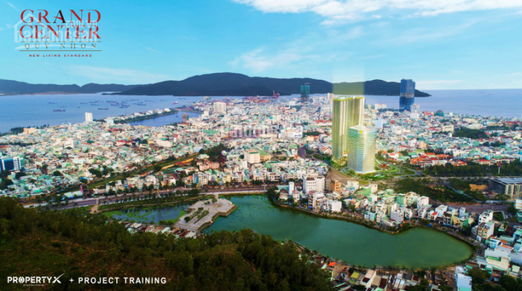 CH Quy Nhơn Grand Center- 1 Nguyễn Tất Thành, 1.6 tỷ /căn, sở hữu lâu dài, CK 18%, Tặng 3 chỉ vàng
