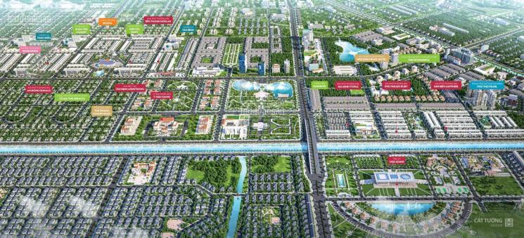 Đất nền trung tâm hành chính Kênh Xà No, Vị Thanh, Hậu Giang, giá từ 10 - 12tr/m2. LH: 090.747.1245