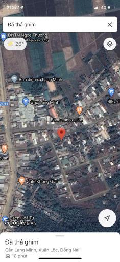 Bán đất ngay trong chợ Lang Minh, Xuân Lộc, Đồng Nai, 53x33m, có 300m2 TC, chỉ 5,5 tỷ, SHR ảnh 0