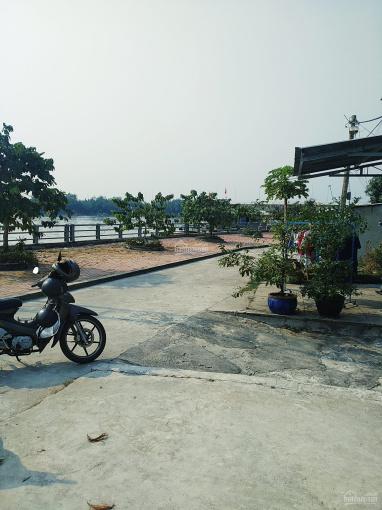 270m2 thổ cư MT bờ kè hẻm 855 Nguyễn Bình góc 2 MT view sông mát mẻ, giá 27tr/m2 hẽm thông ảnh 0