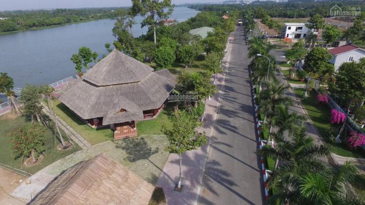 Bán lô đất lô góc biệt thự Tiamo, sát sông Sài Gòn, chỉ còn 1 lô duy nhất