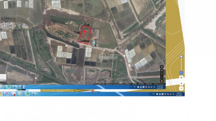 Bán đất Cần Giờ, đường Duyên Hải, xã Long Hòa, 2400m2, giá 7.5 tr/m2 ảnh 0