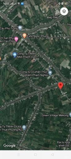 Bán đất mặt tiền đường Trương Vĩnh Nguyên (gần Cầu Lồng Ống), Phú Thứ, Cái Răng, Cần Thơ
