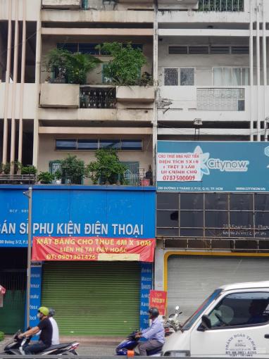 Định cư nước ngoài nên cho thuê gấp nhà nguyên căn mặt tiền 152 Nguyễn Chí Thanh, Quận 5