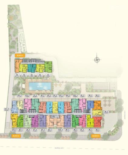 Căn hộ Moonlight Park View cần bán gấp 2PN 2WC 68m2, chỉ 2,55 tỷ xem nhà 24/7