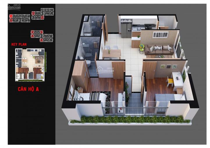 Cần tiền bán gấp căn hộ Diamond Lotus Lakeview 62.4m2, căn góc, giá 2.1 tỷ ảnh 0
