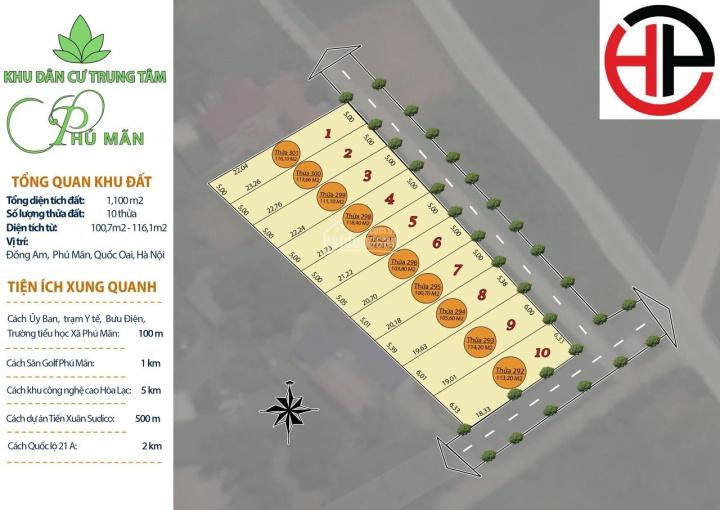 Bán lô đất nền Hòa Lạc gần khu CNC, giá chỉ hơn 700tr, đã có sổ đỏ - 0963294199
