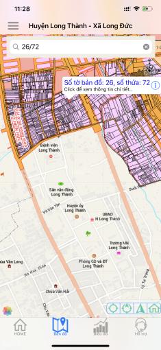 Bán nhà TT Long Thành 10x40mx300m2 TC nhánh đường Tôn Đức Thắng, thị trấn Long Thành, Đồng Nai ảnh 0