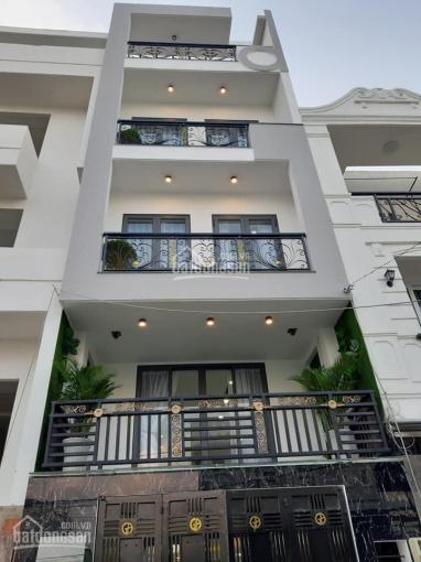 Chính chủ cần tiền bán nhà đường Nguyễn Cửu Vân P17 Q Bình Thạnh 9x15m 4 tầng, giá chỉ 24 tỷ 300 TL ảnh 0