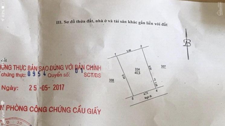 Bán nhà mặt phố Đình Thôn, Quận Nam Từ Liêm, DT 41m2 x 5.5T, mặt tiền 4.8m nở hậu LH: 0888.568.565 ảnh 0
