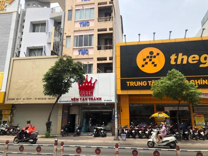 Cho thuê nhà 4 lầu DT 6x18m MT Khánh Hội, Q4, giá 100tr/tháng hợp siêu thị, CHTL, NH, 0915769007 ảnh 0