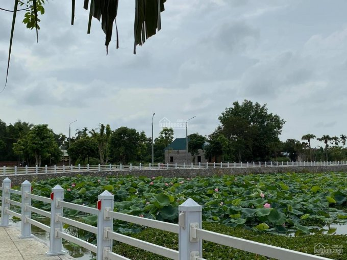 Bán đất nền Hòa Lạc, gần mặt đường ĐT420, sát khu CNC, giá chỉ từ 8tr/m2 sẵn sổ đỏ, LH: 0936469996