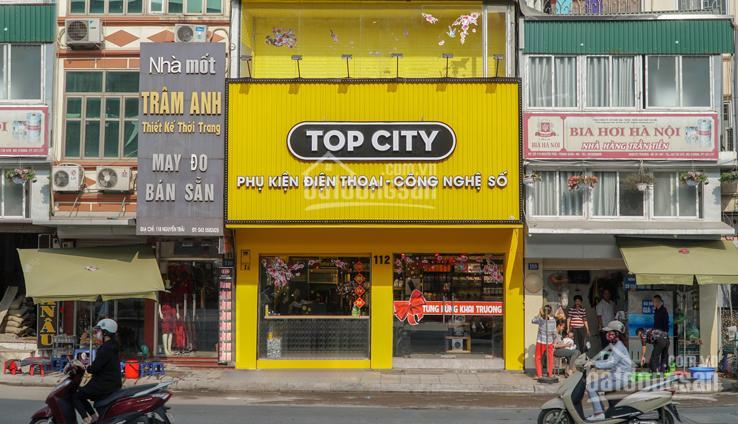 Cho thuê mặt bằng kinh doanh mặt phố Dịch Vọng Hậu 100m2, mặt tiền lô góc. Giá 35 triệu/th