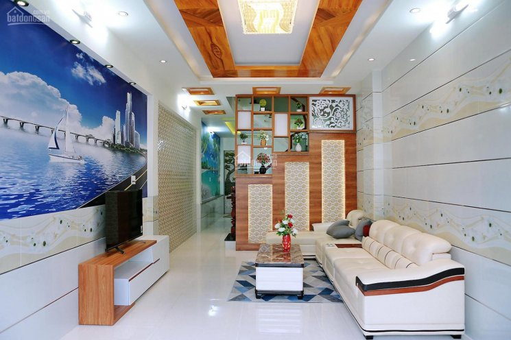 Bán nhà VIP 1 trệt 3 lầu mới xây, nội thất đẹp 4x16m, hẻm 6m cách đường Gò Xoài 100m