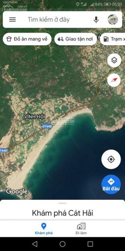 Bán đất ven biển xã Cát Hải, huyện Phù Cát, diện tích đa dạng, giá cả tốt nhất, 0906496189 ảnh 0